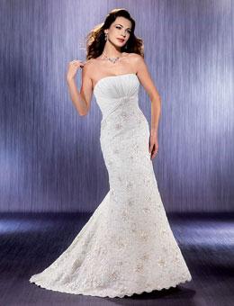 Фото о моде: Свадебное платье рыбка