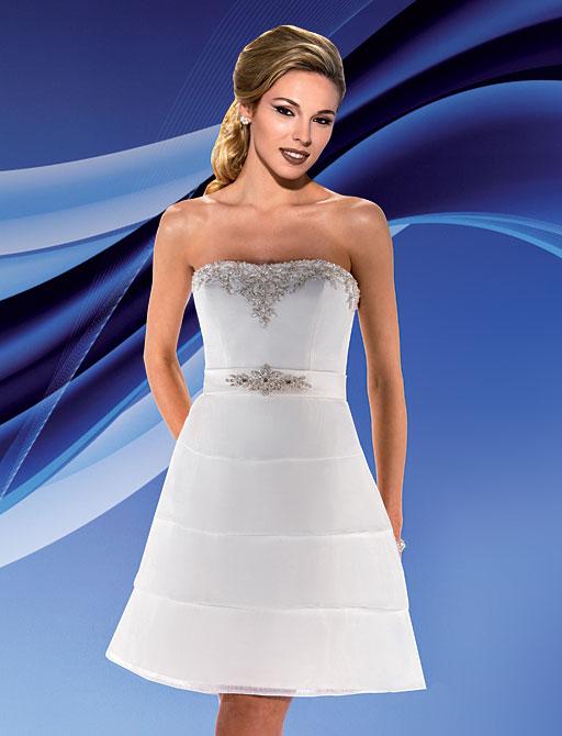 Свадебные платья короткие со шлейфом : Свадебное платье Eddy K Nelly...