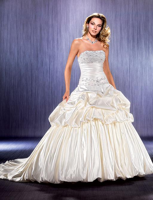 Очень пышные свадебные платья фото : Свадебное платье ADK 77868