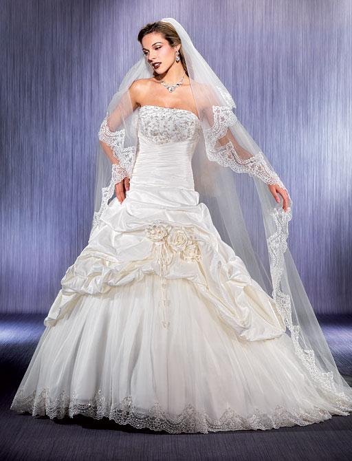 Свадебные платья и фата. Свадебное платье ADK 77874: Свадебное