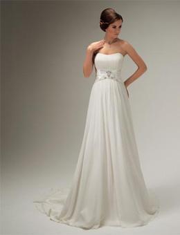 Свадебные платья. ампир
